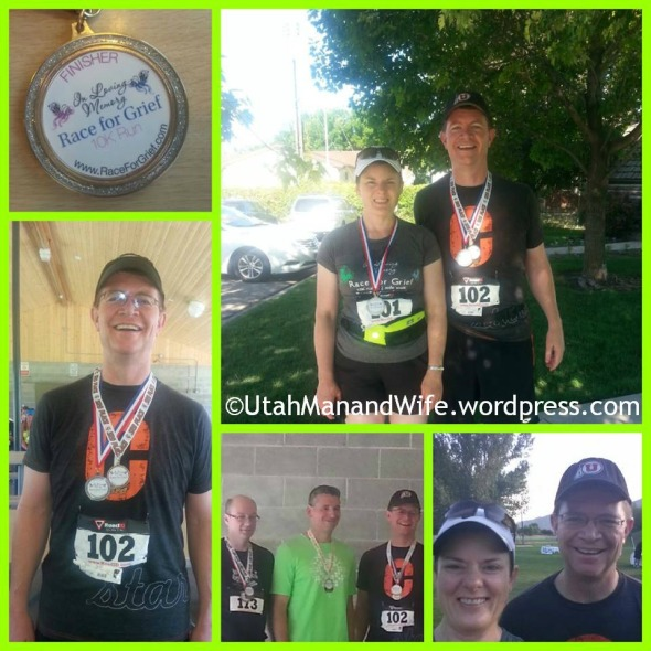 2013 Race For Grief 10K Collage