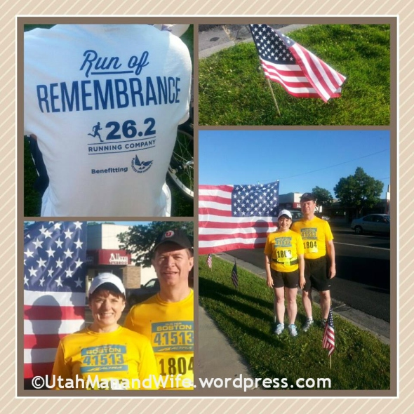 Run of Remembrance collage