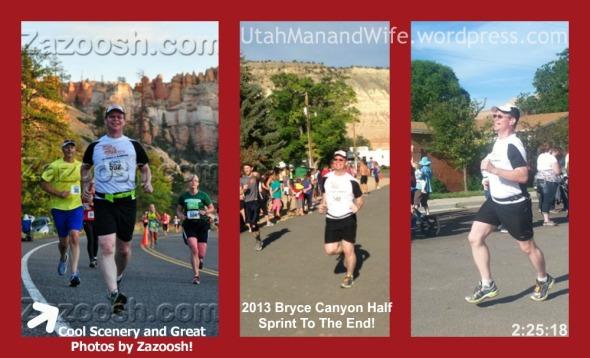 2013.07.13 Bryce Canyon Half Finish UtahMan