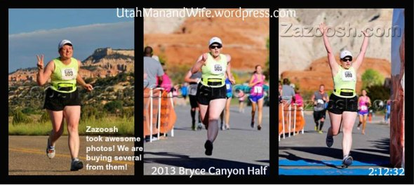 2013.07.13 Bryce Canyon Half Finish