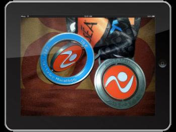 Utah Valley Marathon 10K medals were 3D! (way cool)