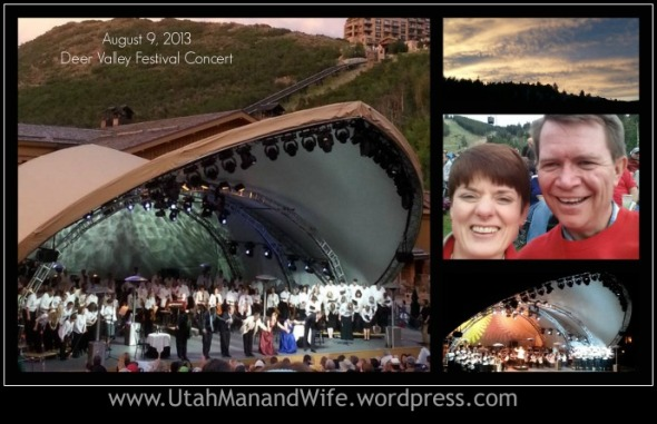 Utah Opera In The Open Air - with Jerry Steichen Conducting the Utah Symphony and Utah Opera Chorus, and special guest soloists