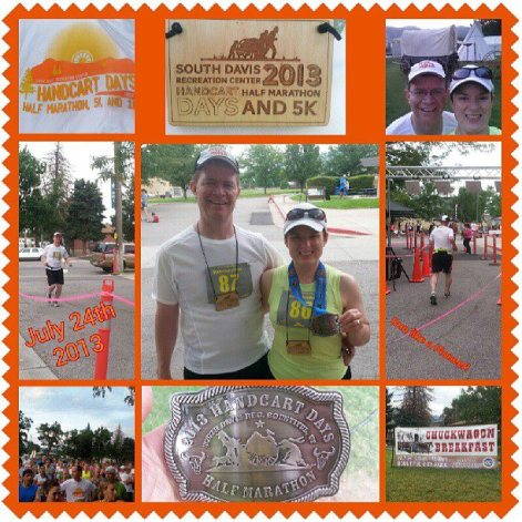UtahMan and Wife's 2nd Half Marathon!